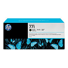 HP 771 High Yield Matte Black