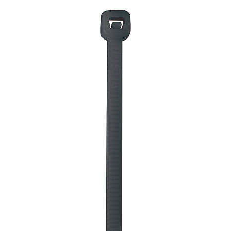 """Office Depot® Brand Cable Ties, 50 Lb, 18"""", Gray, Pack Of 500"""