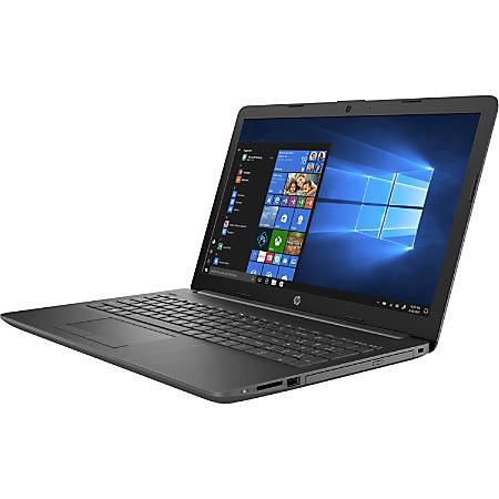 "HP 15-db1030nr - Ryzen 3 3200U / 2.6 GHz - Win 10 Home 64-bit - 8 GB RAM - 128 GB SSD - DVD-Writer - 15.6"" SVA touchscreen 1366 x 768 (HD) - Radeon Vega 3 - Wi-Fi, Bluetooth - ash silver/chalkboard gray"