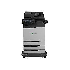 Lexmark CX860DTFE Laser Multifunction Printer Color