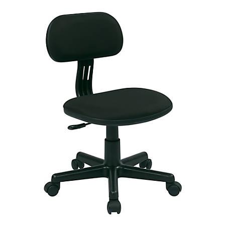 Office Star™ Student Task Chair, Black