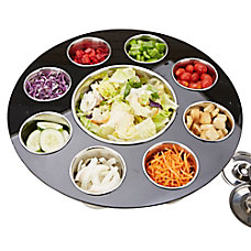 Mind Reader 9 Compartment Salad Serving