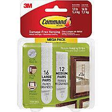 3M Command Picture Hanging Strips 6