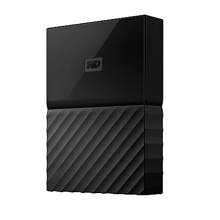 Western Digital® My Passport™ 4TB Portable External Hard Drive For Apple® Mac®, Black