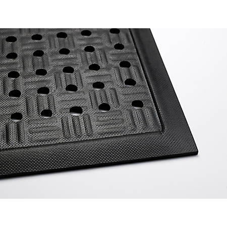 """Cushion Station With Holes, 48"""" x 241-1/4"""", Black"""