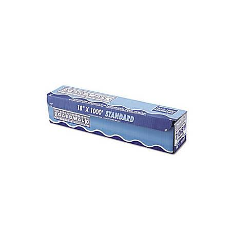 "Boardwalk Standard Aluminum Foil Roll, 18"" x 1,000', Silver"