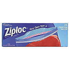 Ziploc Double Zipper Freezer Bags 1