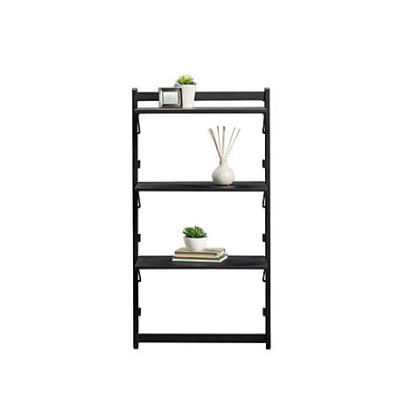 Sauder Beginnings Collection Metal Anywhere Shelf on secure storage cabinets