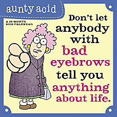 Day Dream Aunty Acid Monthly Wall