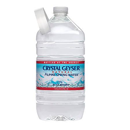 Crystal Geyser Spring Water, 1 Gallon