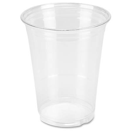 Genuine Joe Clear Plastic Cups - 25 - 16 fl oz - 500 / Carton - Clear - Plastic - Cold Drink, Beverage