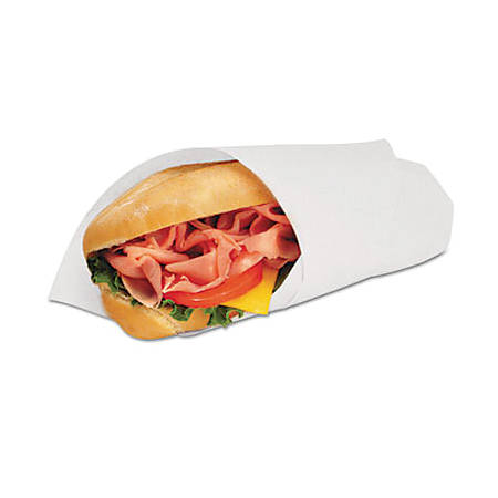 """Marcal® Deli Wrap Dry-Waxed Paper Flat Sheets, 18"""" x 18"""", White, 1,000 Sheets Per Pack, Case Of 2 Packs"""