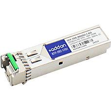 AddOn Cisco SFP 10G BX60U I