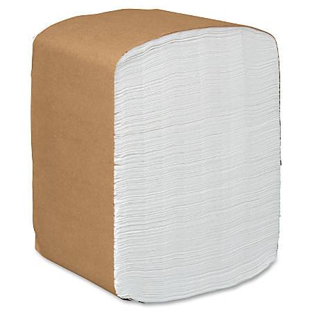 """Scott Full Fold Dispenser Napkins - 12"""" x 13"""" - White - Soft, Absorbent - For Multipurpose - 375 Quantity Per Pack - 6000 / Carton"""