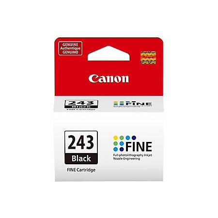 Canon PG-243 Ink Cartridge - Black - Inkjet - 180 Pages