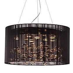 ZUO Symmetry Ceiling Lamp Black