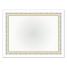 Great Papers Foil Certificate 8 12
