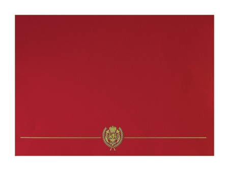 Great Papers Classic Certificate Covers 12 x 9 38 Red Pack Of 5 by ...