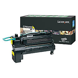 Lexmark C792X4YG High Yield Yellow Toner