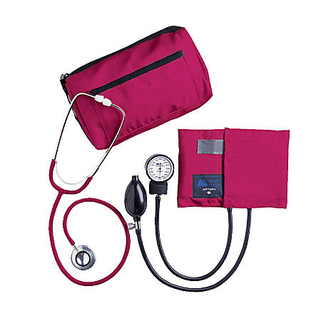 MABIS MatchMates® Home Blood Pressure Kit, Magenta