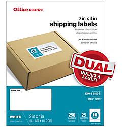 Print office depot brand white inkjetlaser shipping
