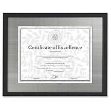 Dax Burns Group Metal Mat Certificate
