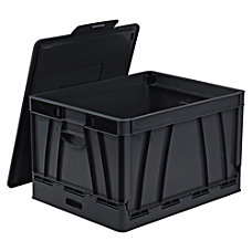 Storex Collapsible File Storage Crate 14