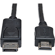 Tripp Lite 10ft DisplayPort to HDMI