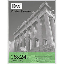 DAX Clear U Channel Poster Frames