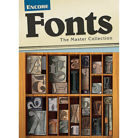 Font Collection (Mac)