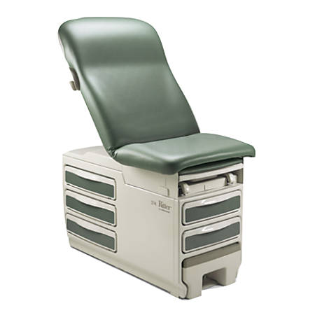 "Ritter Exam Table, 32""H x 27""W x 72""D, Gray"