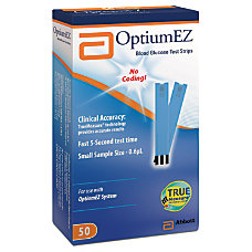 Optium EZ Blood Glucose System Pack