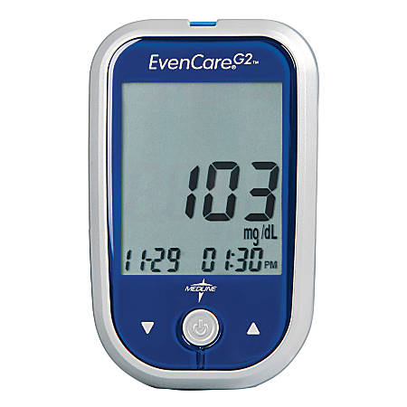 EvenCare® Test Strips For EvenCare G2® Blood Glucose Systems, 50 Strips Per Box, Case Of 12 Boxes