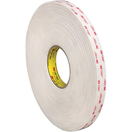 """3M™ VHB™ 4952 Tape, 1.5"""" Core, 0.75"""" x 5 Yd., White"""