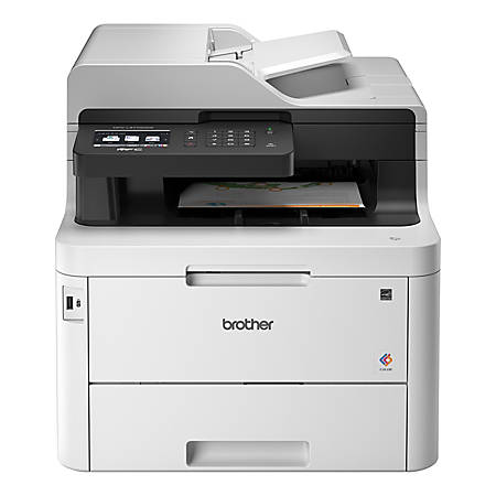 Brother MFC-L3770CDW Wireless Color All-In-One Laser Printer, Scanner, Copier, Fax