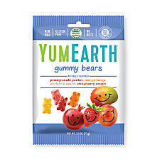 Yummy Earth Gummy Bears 25 Oz