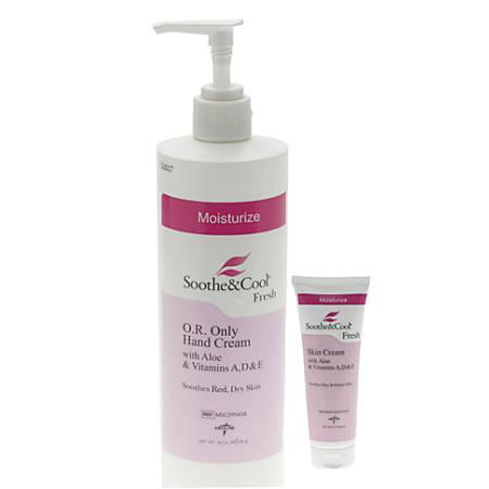 Medline Soothe & Cool® Skin Cream, 16 Oz., Case Of 12
