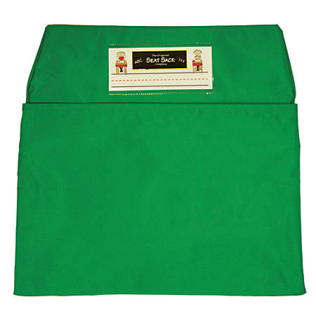 "Seat Sack™ Organizers, Standard, 14"", Green, Grades 1-3, Pack Of 2"