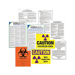 ComplyRight Healthcare Poster Kit English Michigan