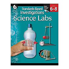 Shell Education Standards Based Investigations Science