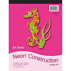 Art Street Construction Paper Pad 9