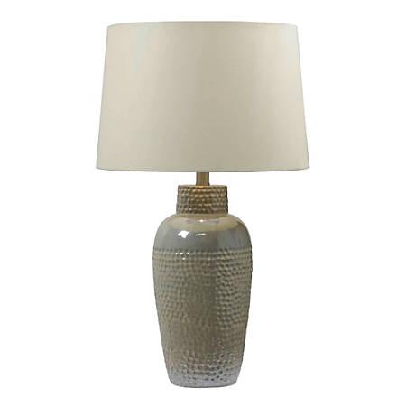 """Kenroy Facade Table Lamp, 28""""H, Tan"""