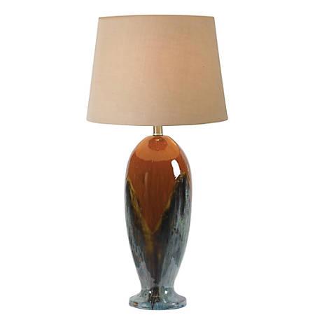 "Kenroy Lavo Table Lamp, 30""H, Brown/Black"