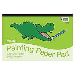 Pacon Art Street Painting Paper Pad