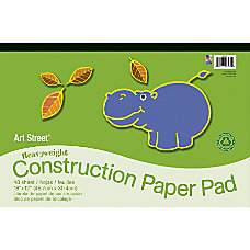 Art Street 100percent Recycled Construction Paper