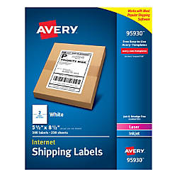 Avery Bulk Shipping Labels 95930 5