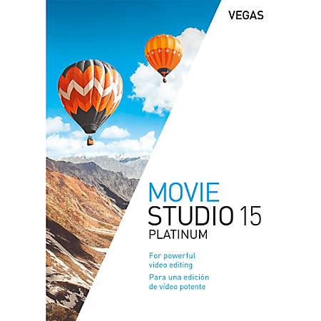 VEGAS Movie Studio 15 Platinum, Download Version