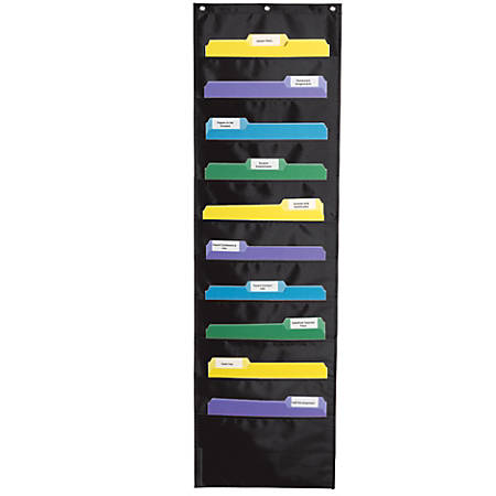 Carson-Dellosa Storage Pocket Chart, Grades Pre-K - 8