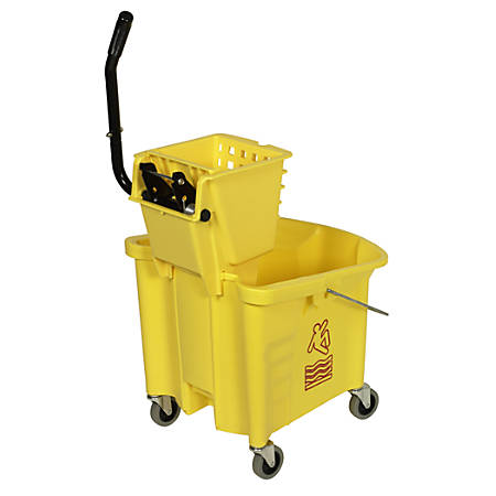 Splash Guard 35 Qt. Bucket Combo Set With SW12 Wringer