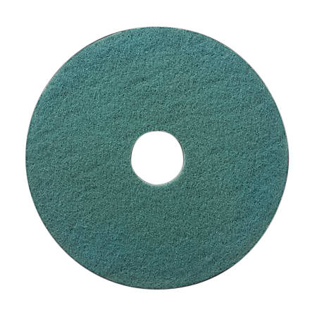 "Niagara™ 3100N Burnishing Pads, 19"", Aqua, Case Of 5"